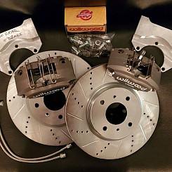 Rear 4 Piston Wilwood Brake Kit (Z)