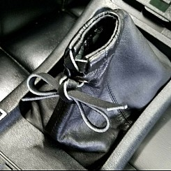 Genuine Leather Shift Rod Boot