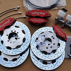 Z Car Wilwood Front & Rear Kit Stage 3