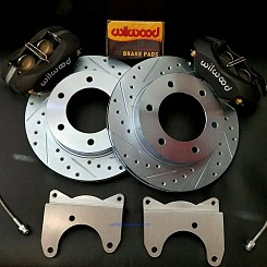 Rear 4 Piston Wilwood Brake Kit