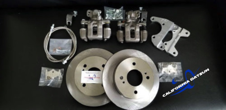 Rear Drilled Rotors Maxima Brake Set (510 1968-73) | Brake ...