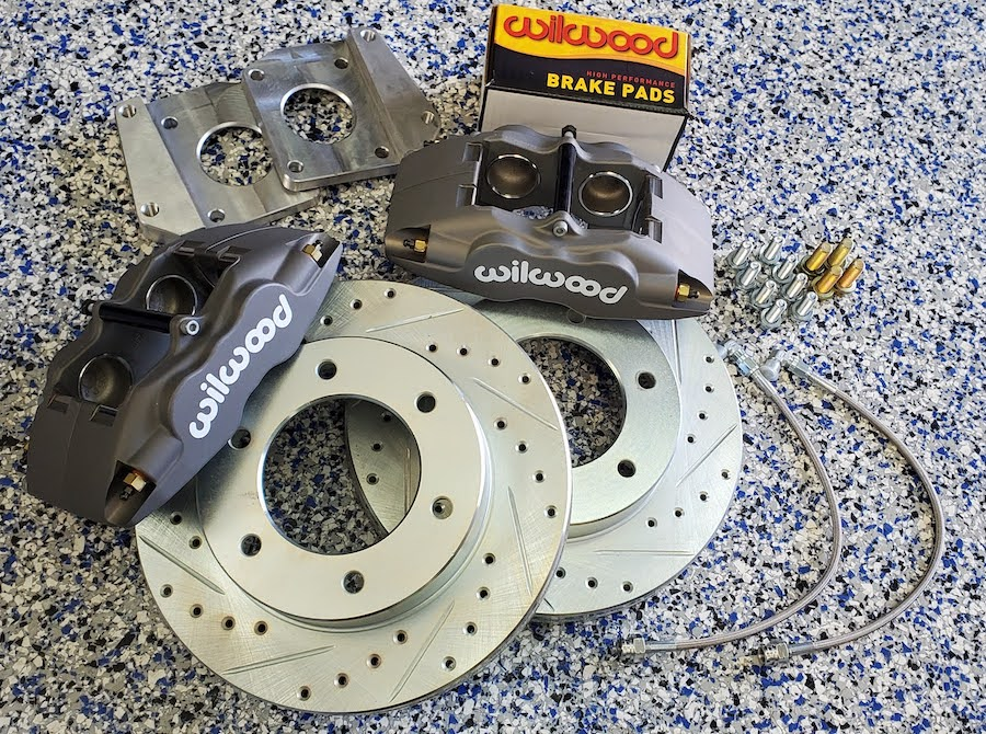 Front Wilwood Disc Brake Conversion Kit (TRUCK)