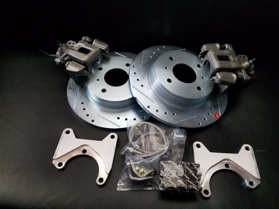 MAXIMA DISC BRAKE CONVERSION KIT 240Z 260Z 280Z 9