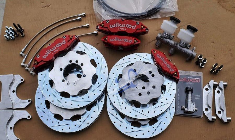 Z Car Wilwood Front & Rear Kit Stage 3
