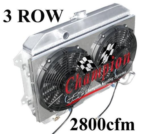 Aluminum radiator 12 fans shroud kit radiator sciox Choice Image