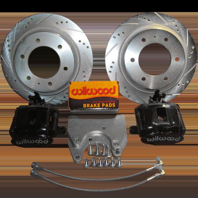 Rear Wilwood Brake Set w/ E Brake | Brake Conversion/Upgrade Kits