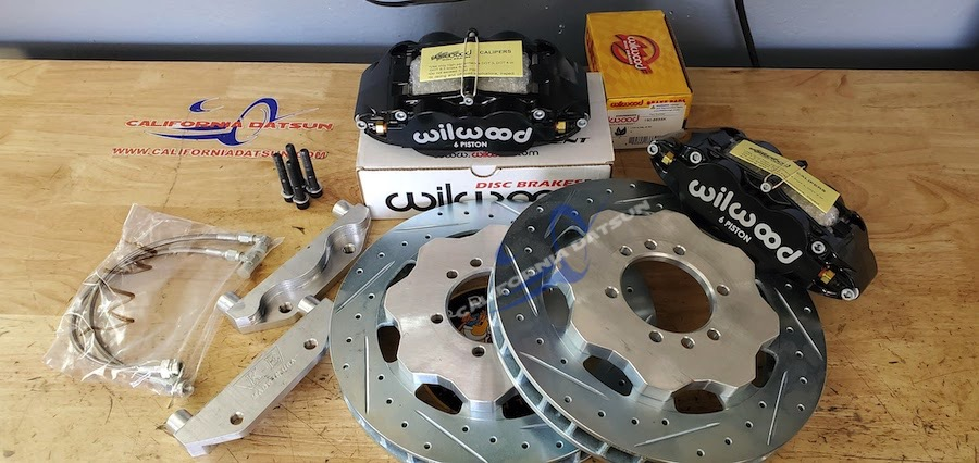 Front Wilwood Brake Kit (STAGE 3)