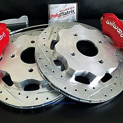 Rear 4 Piston Wilwood Brake Kit