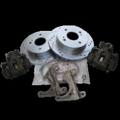 Rear Drilled Rotors Maxima Brake Set (Z 1969-78)