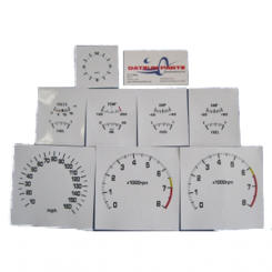 White Face Gauge Kit